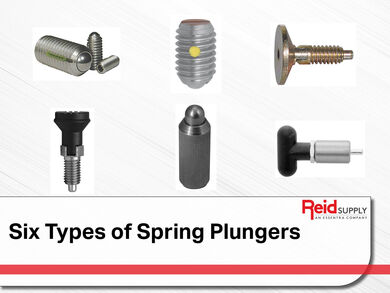 Six Types of Spring Plungers