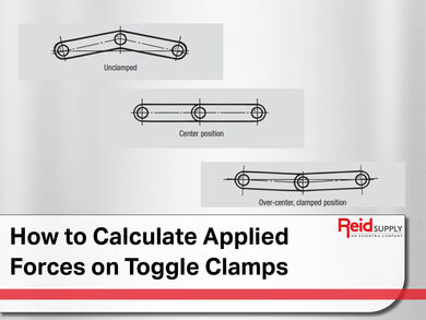 Calculate Applied Forces on Toggle Clamps