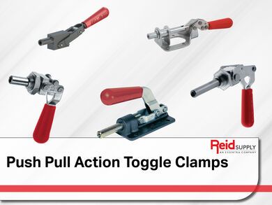 Push Pull Action Toggle Clamps