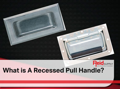 What is a Recessed Pull Handle?