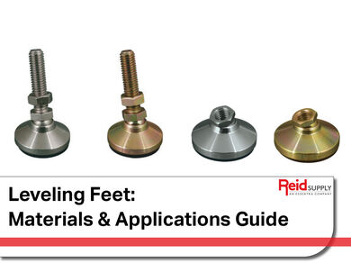 Leveling Feet Materials and Applications Guide