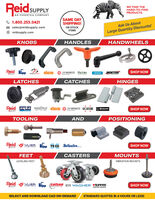 Knobs, Latches, Tooling, Casters